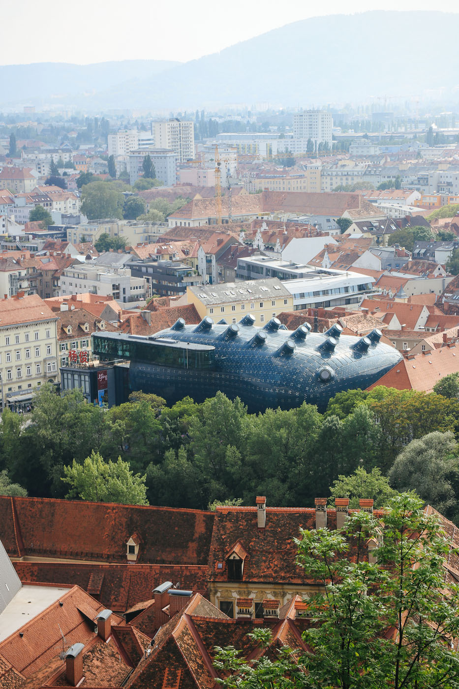 Schlossberg Graz Cityguie Städtereise friendly alien