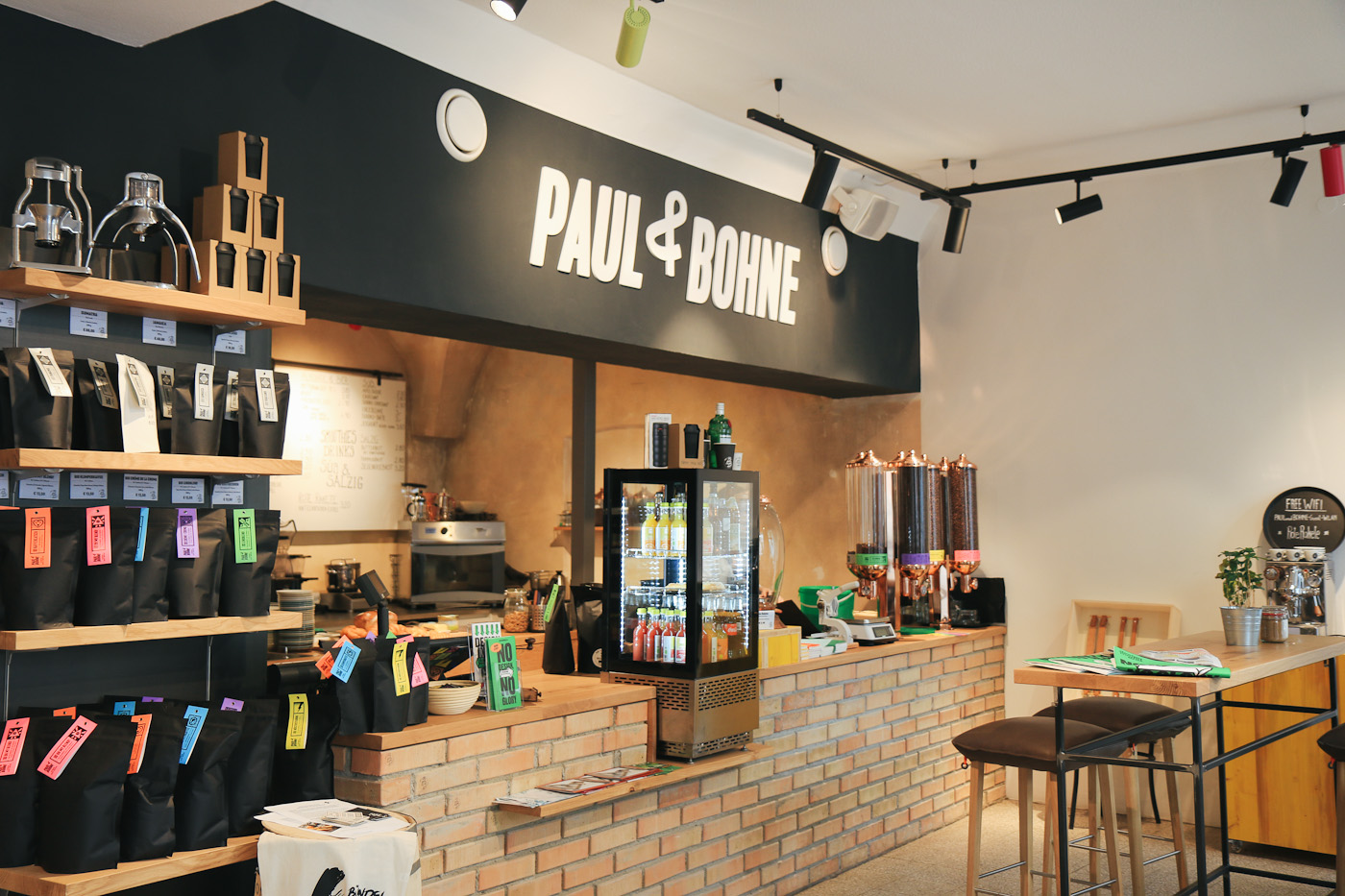 Paul&Bohne graz Kaffeerösterei