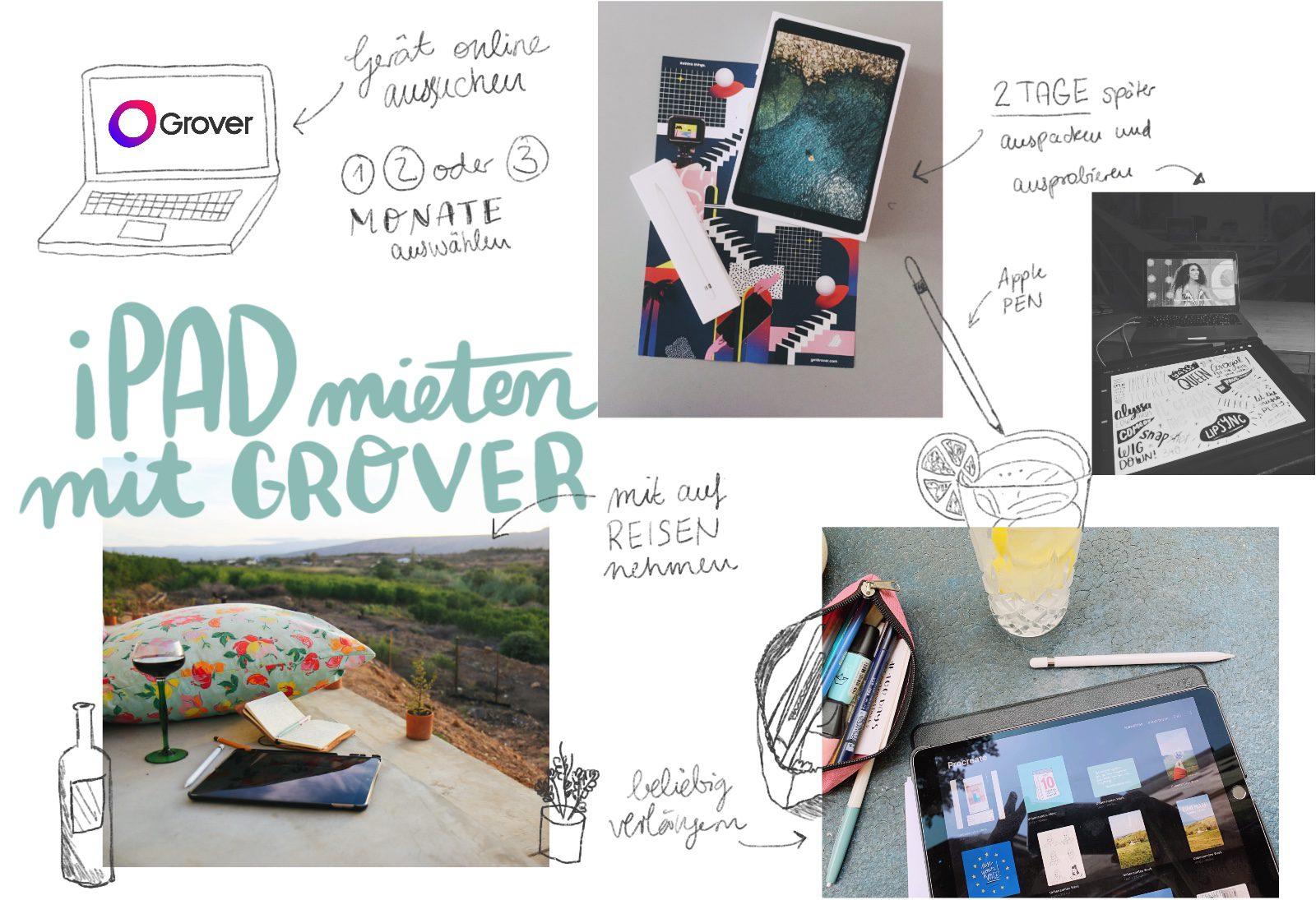 iPad mieten mit Grover Test illustration Geräte