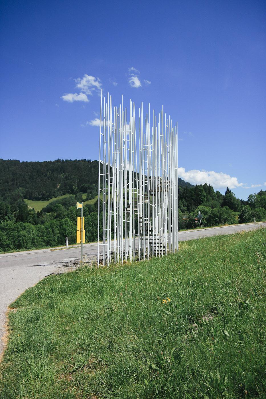BUS:STOP Krumbach Architektur Bregenzerwald