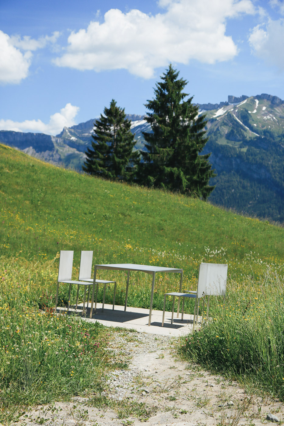 Georunde Rindberg Wanderung Baukunst