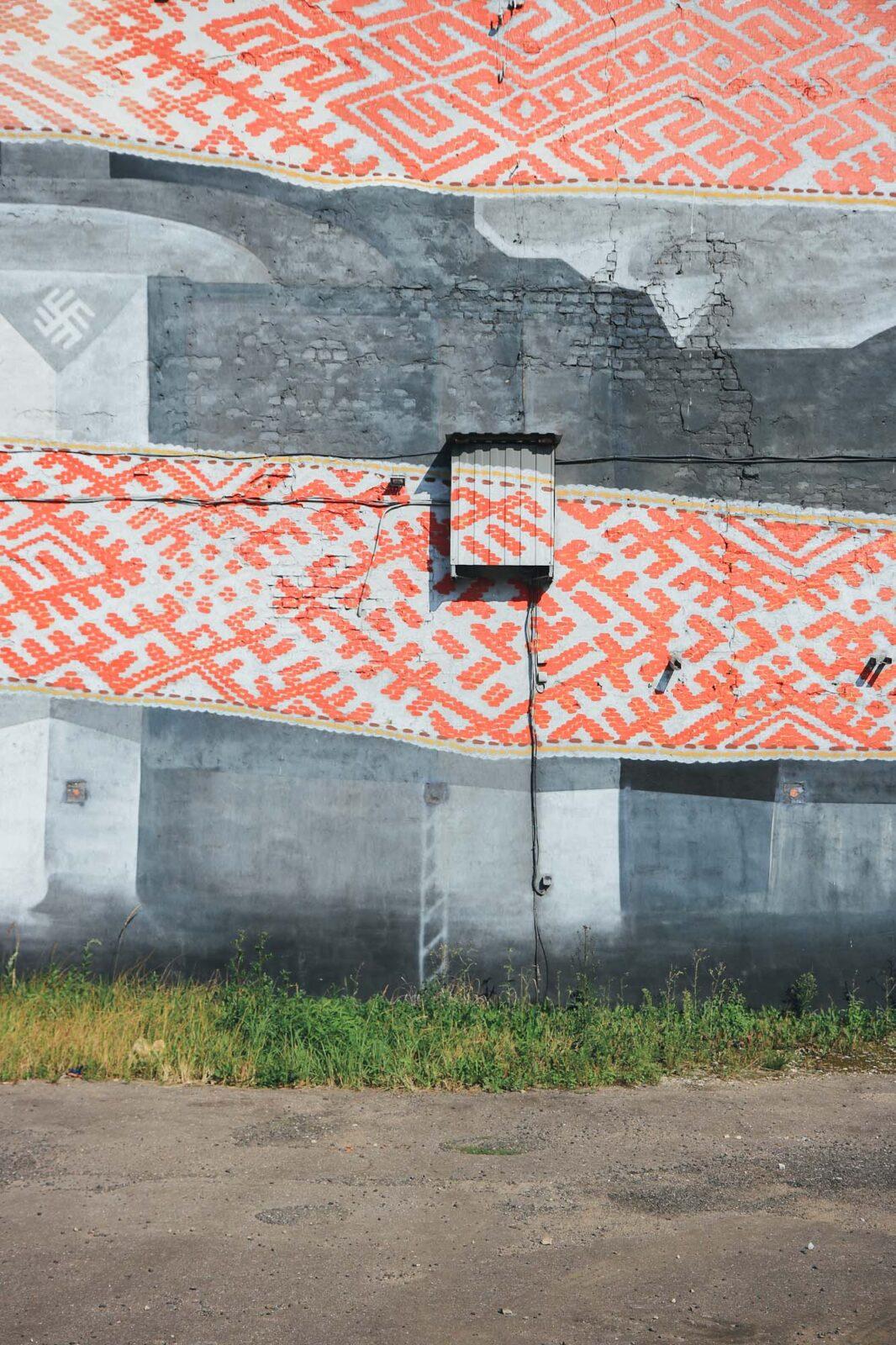 Riga Mural Baltics Streetart