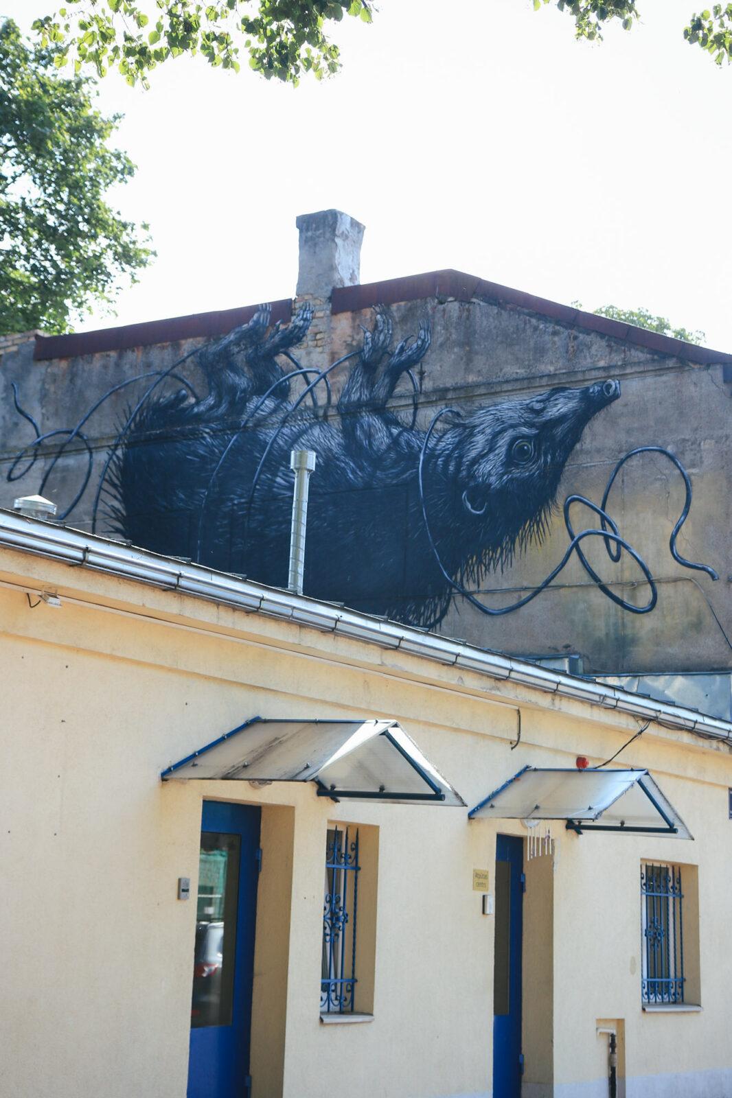 Street Art Riga