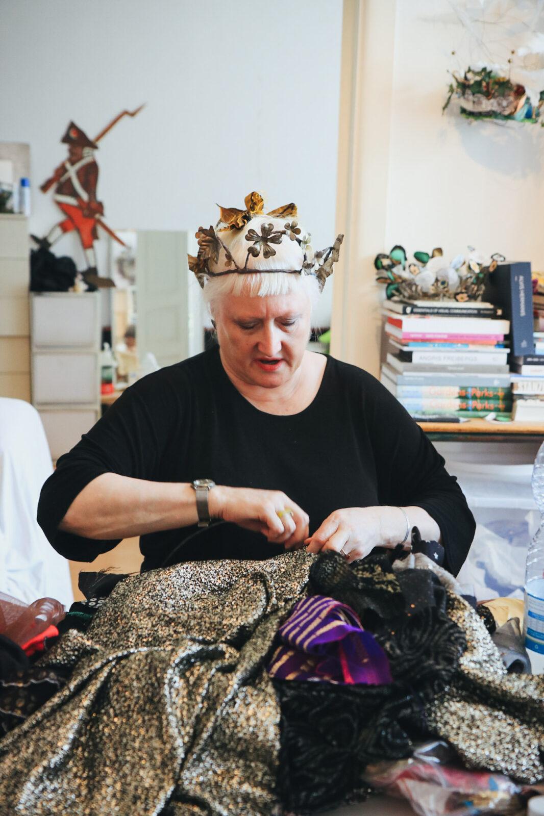 Riga Städtetrip Kunst und Kultur Brigita Crown Workshop