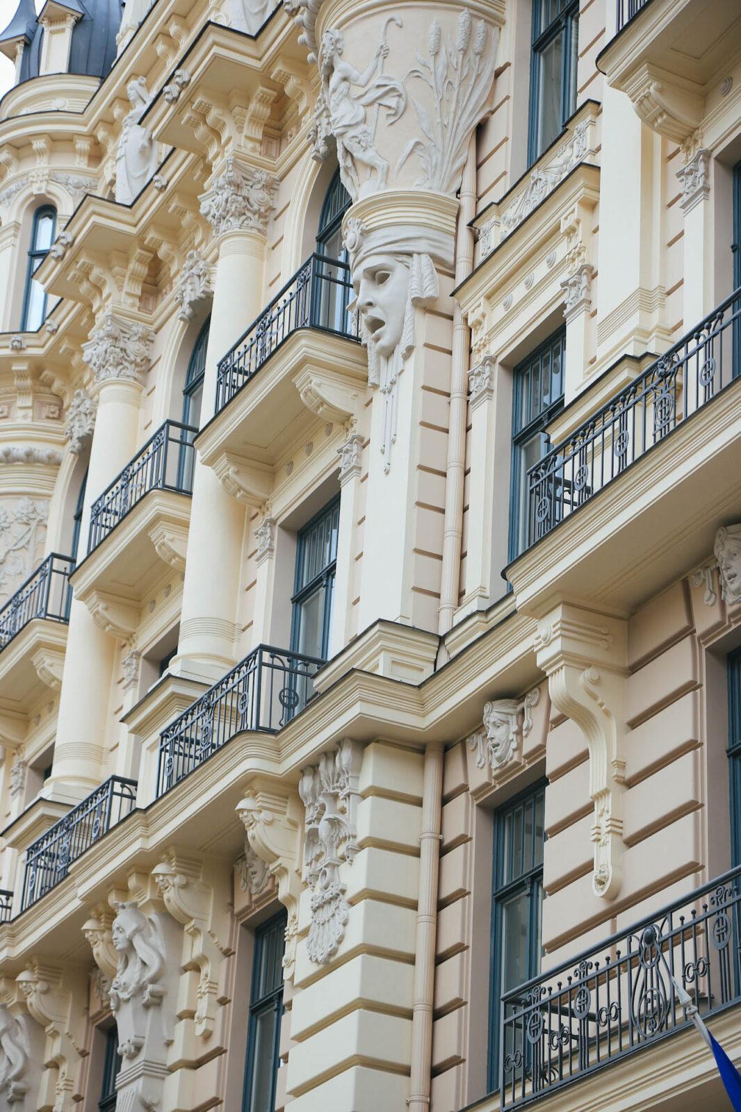 Riga Jugendstil Art Nouveau