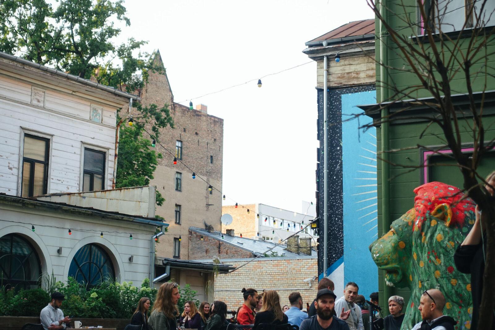 Riga Städtereise Bars und Restaurants