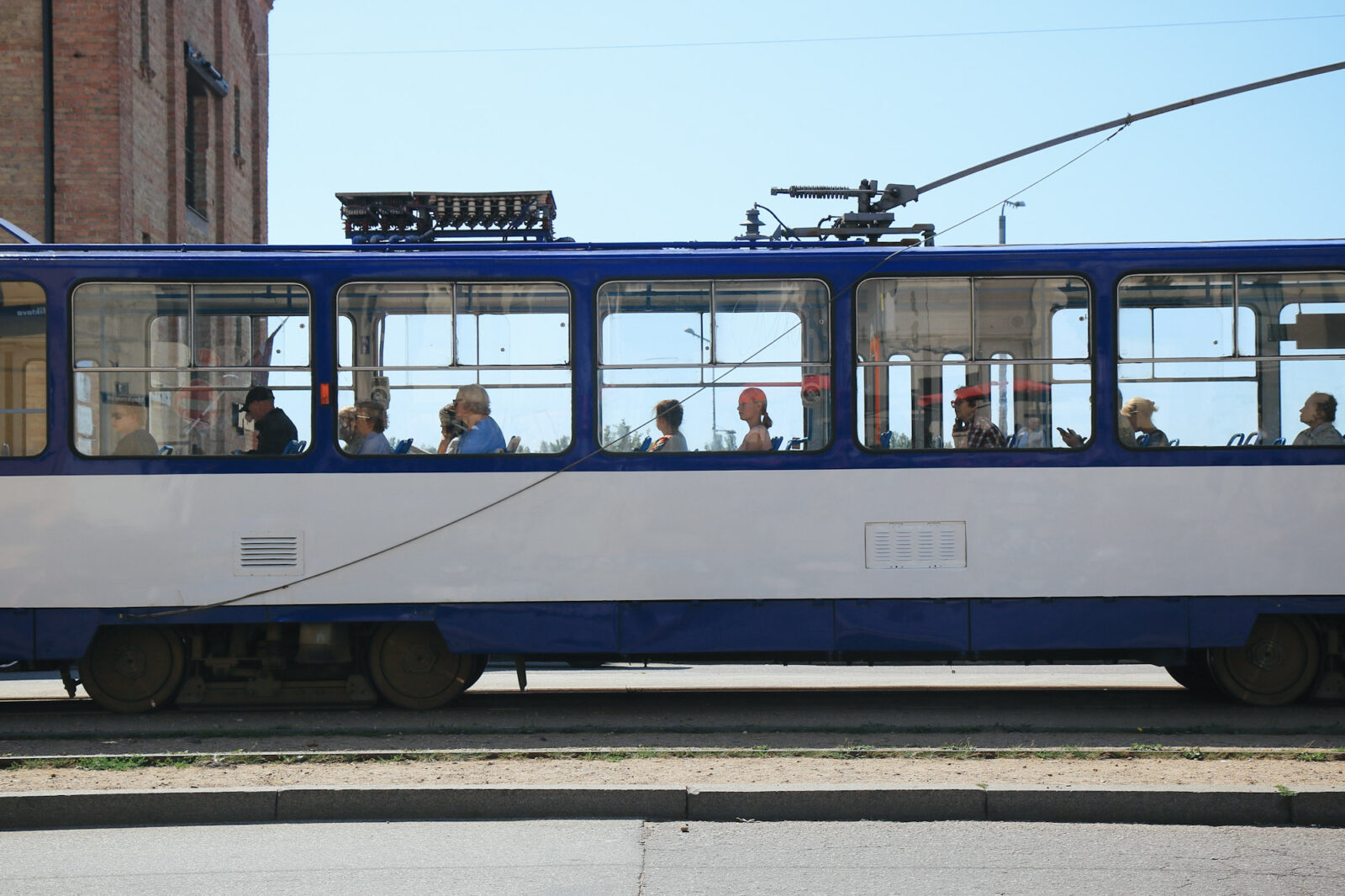 Städtereise Riga Öffentliche Verkehrsmittel Straßenbahn