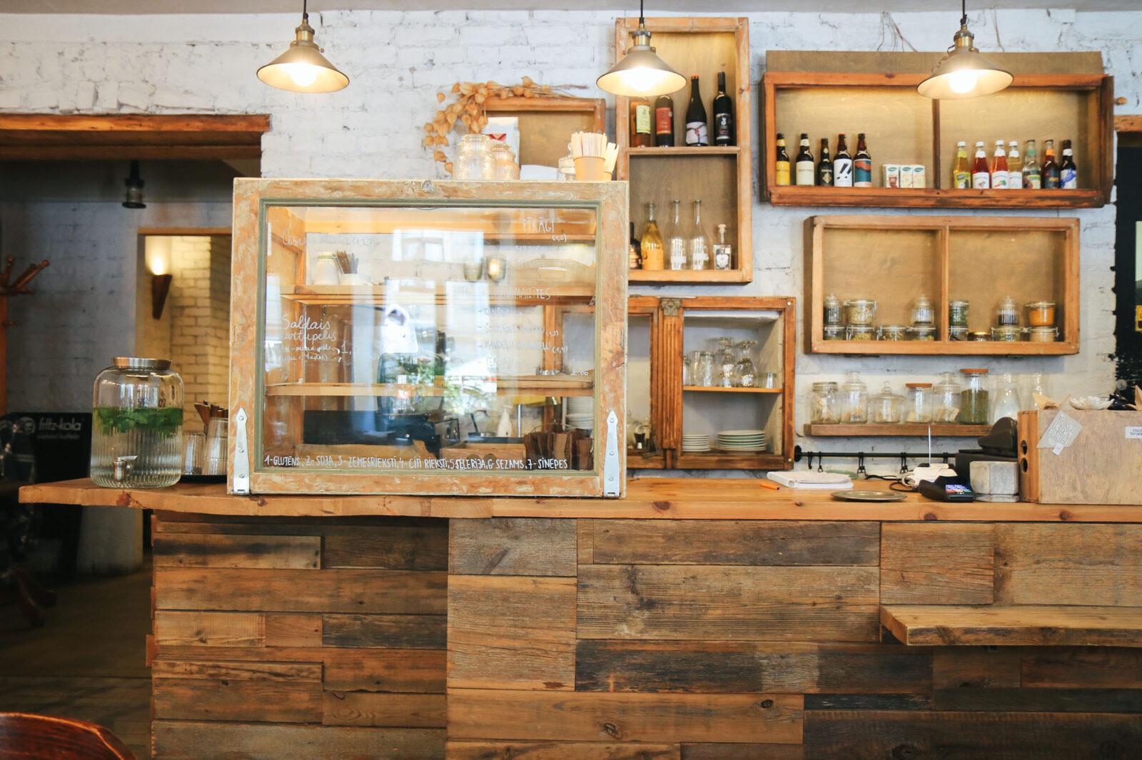 Riga Städtereise Cafe