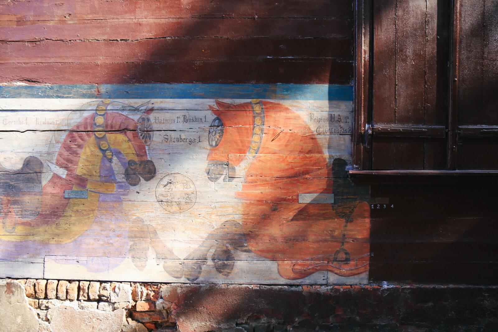 Riga Biennale Urban Art Brownie from Bruninieku Street