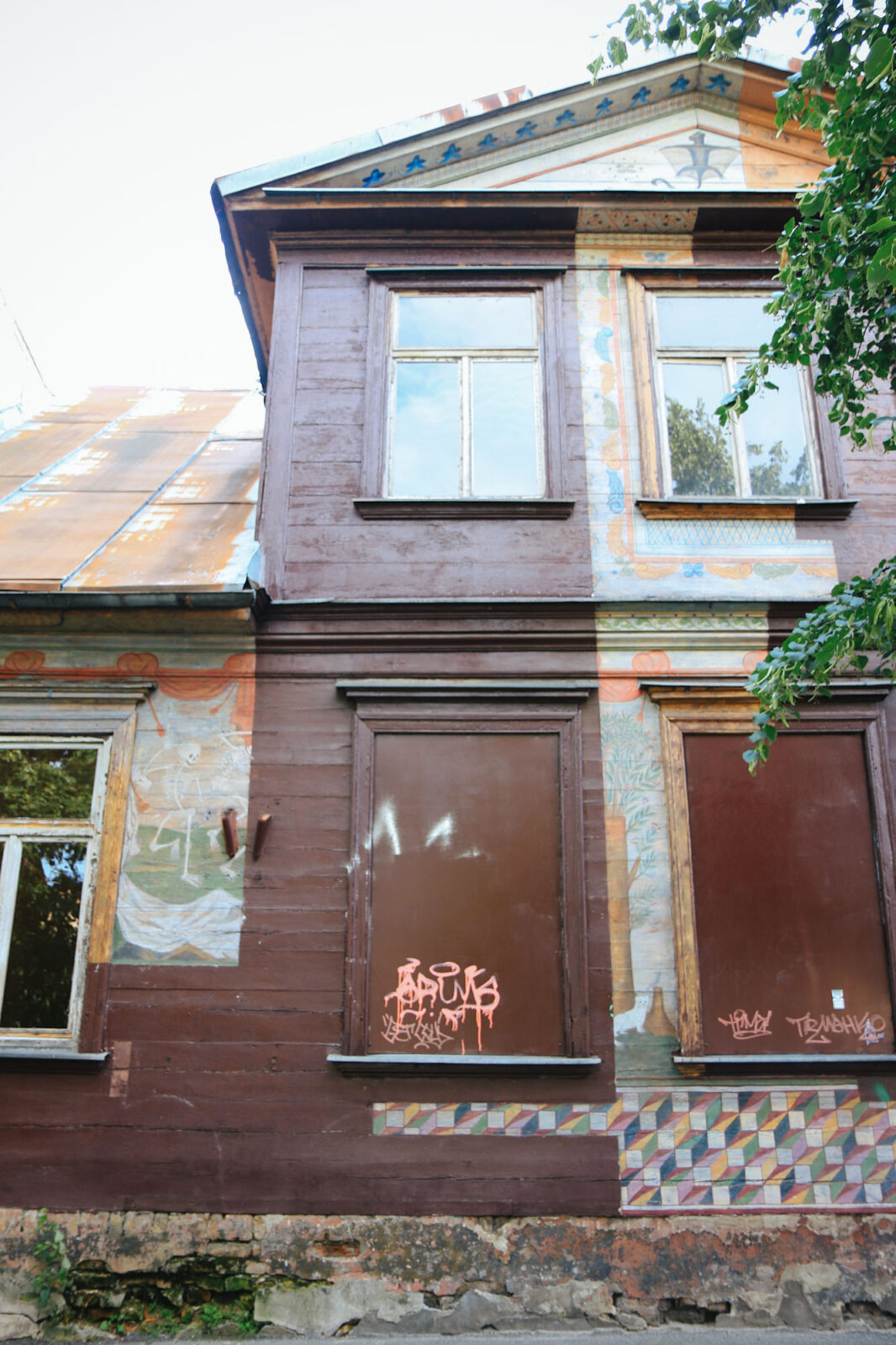 Riga Biennale Urban Art Brownie