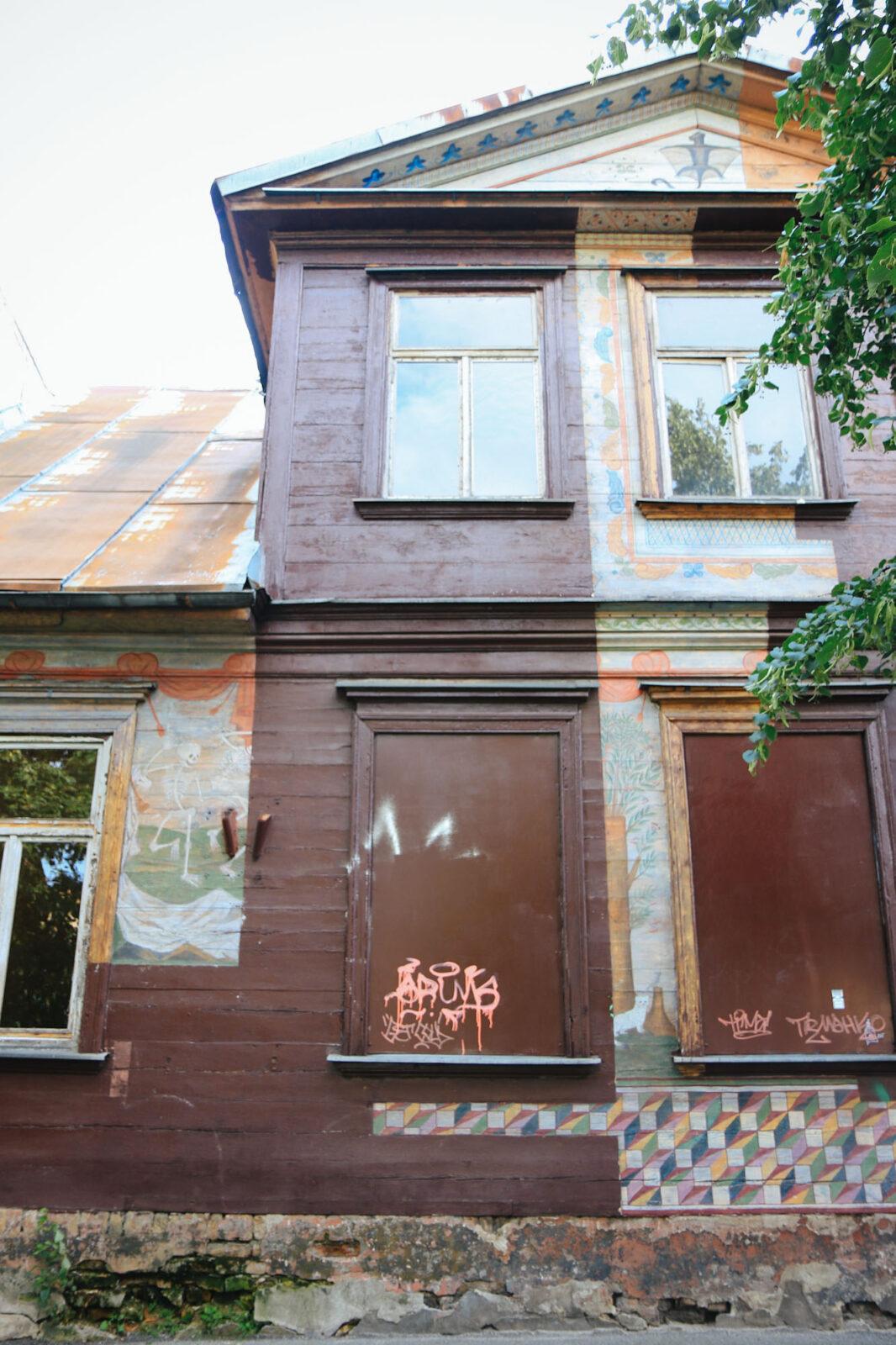 Riga Biennale Urban Art Brownie
