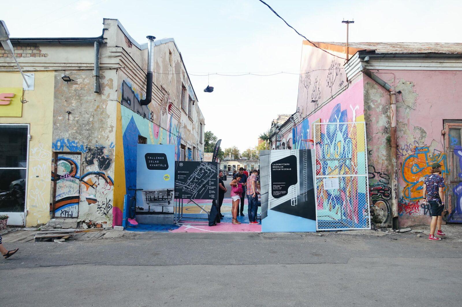 Riga Tallinas Pagalms Kunst und Kultur
