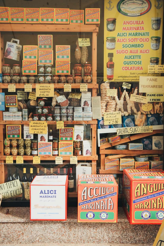 Comacchio Podelta Emilia Romagna Italien Aal