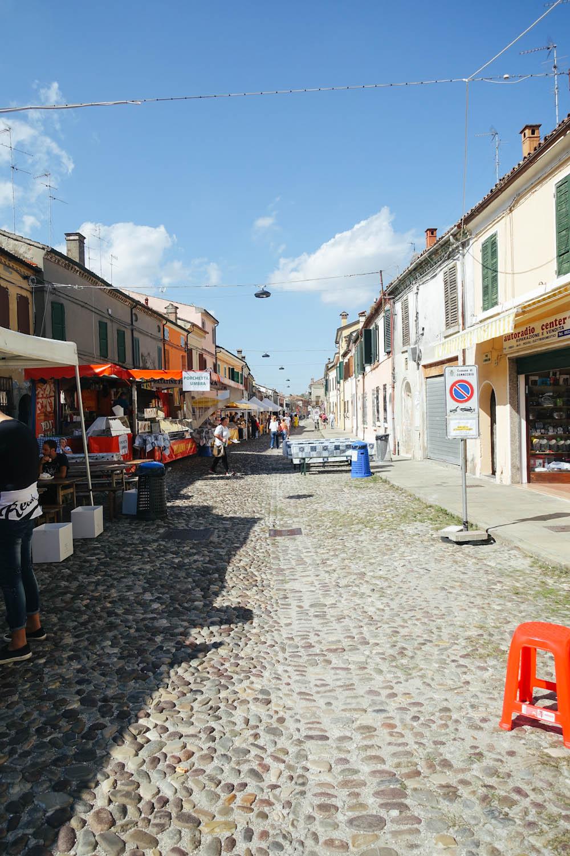 Comacchio Podelta Emilia Romagna Italien Aal festival