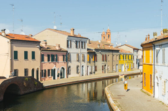 Comacchio Emilia Romagna Adeline Gressin