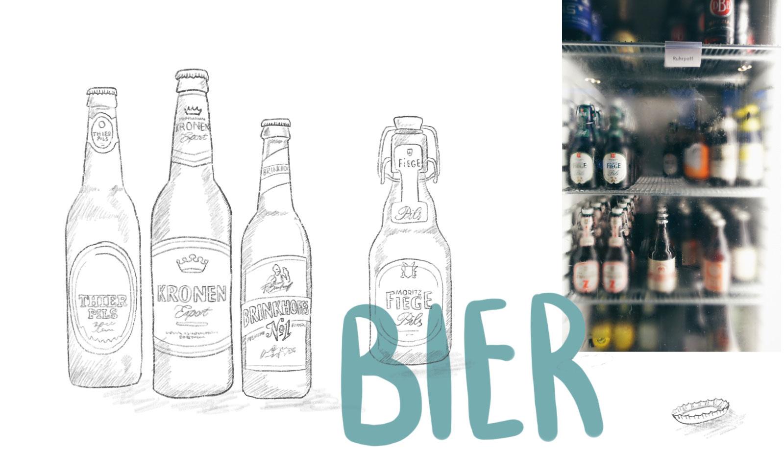 Bier Brauereien im Ruhrgebiet