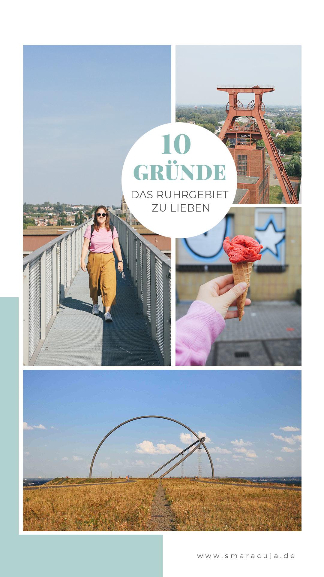 Ruhrgebiet Ausflugsziele Hommage Stadtteile Industriekultur Halden
