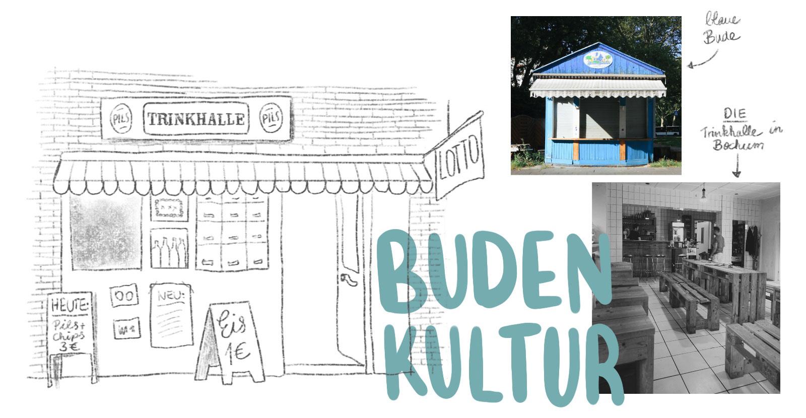 Budenkultur Trinkhallen im Ruhrgebiet Landmarken Ausflugsziele Ruhrpott