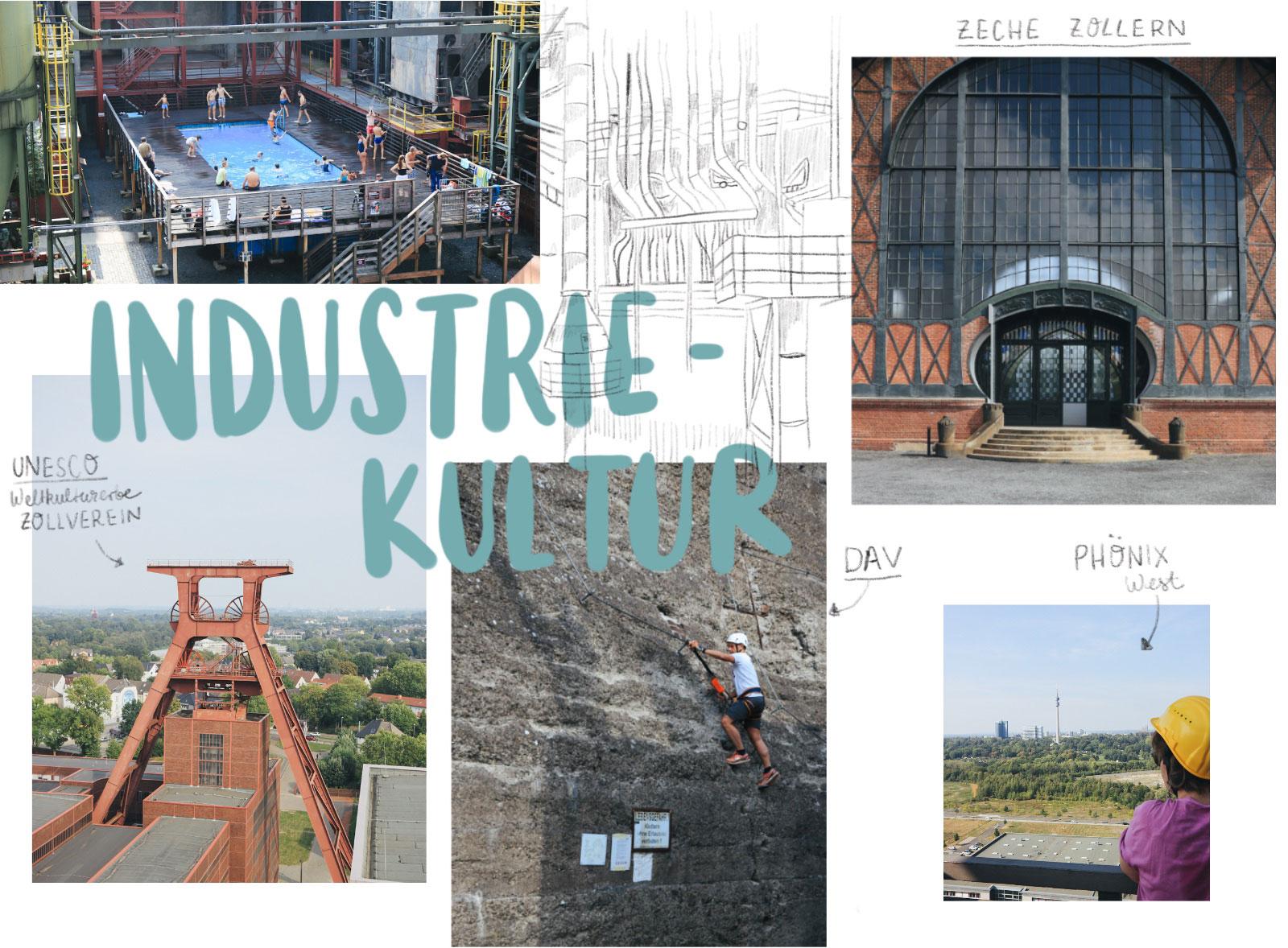Industriekultur im Ruhrgebiet Ausflugsziele Zollverein Landschaftspark Zollern Ruhrpott Phoenix West Skywalk