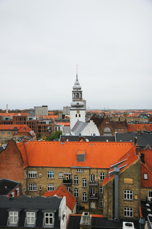 Aalborg Skyline Dänemark Städtereise