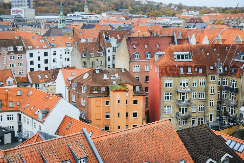 Aalborg Salling Rooftop Aussichtspunkt Skyline