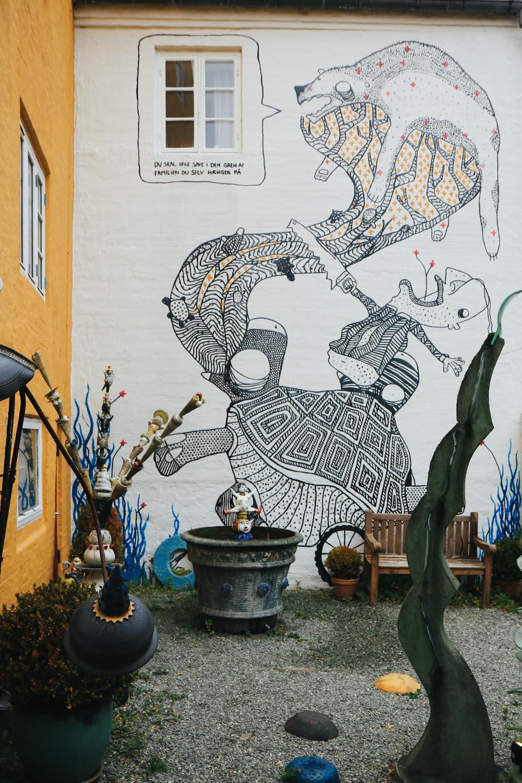 Aalborg Street Art Dänemark Städtereise