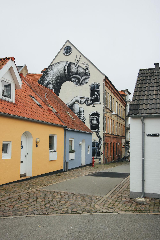 Street Art Aalborg Urban Art kirk gallery Dänemark Städtereise