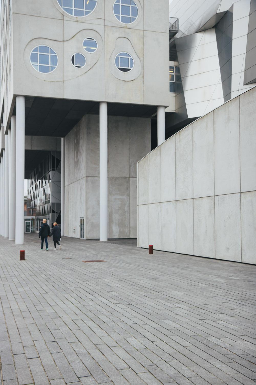 Architektur Aalborg Städtereise Musikken Konzerthaus