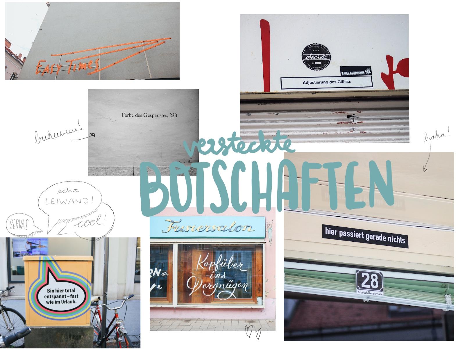 versteckte Botschafte Graz Städtereise