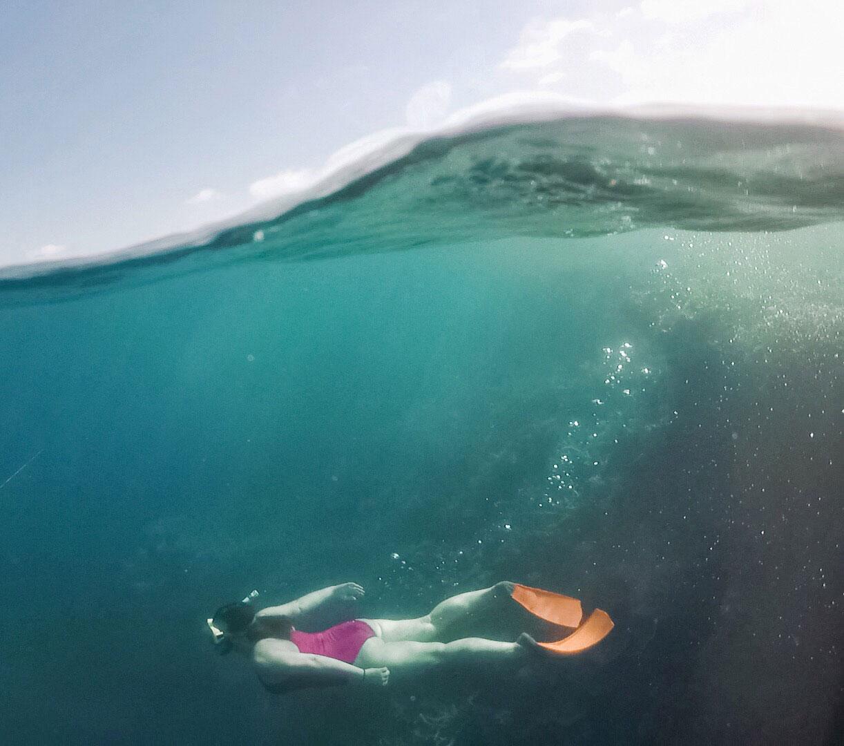 Sommer Bucket List Schwimmen See Meer Juni
