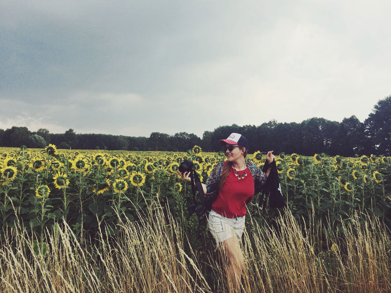 Sommer Bucket List Sonnenblumen Juli