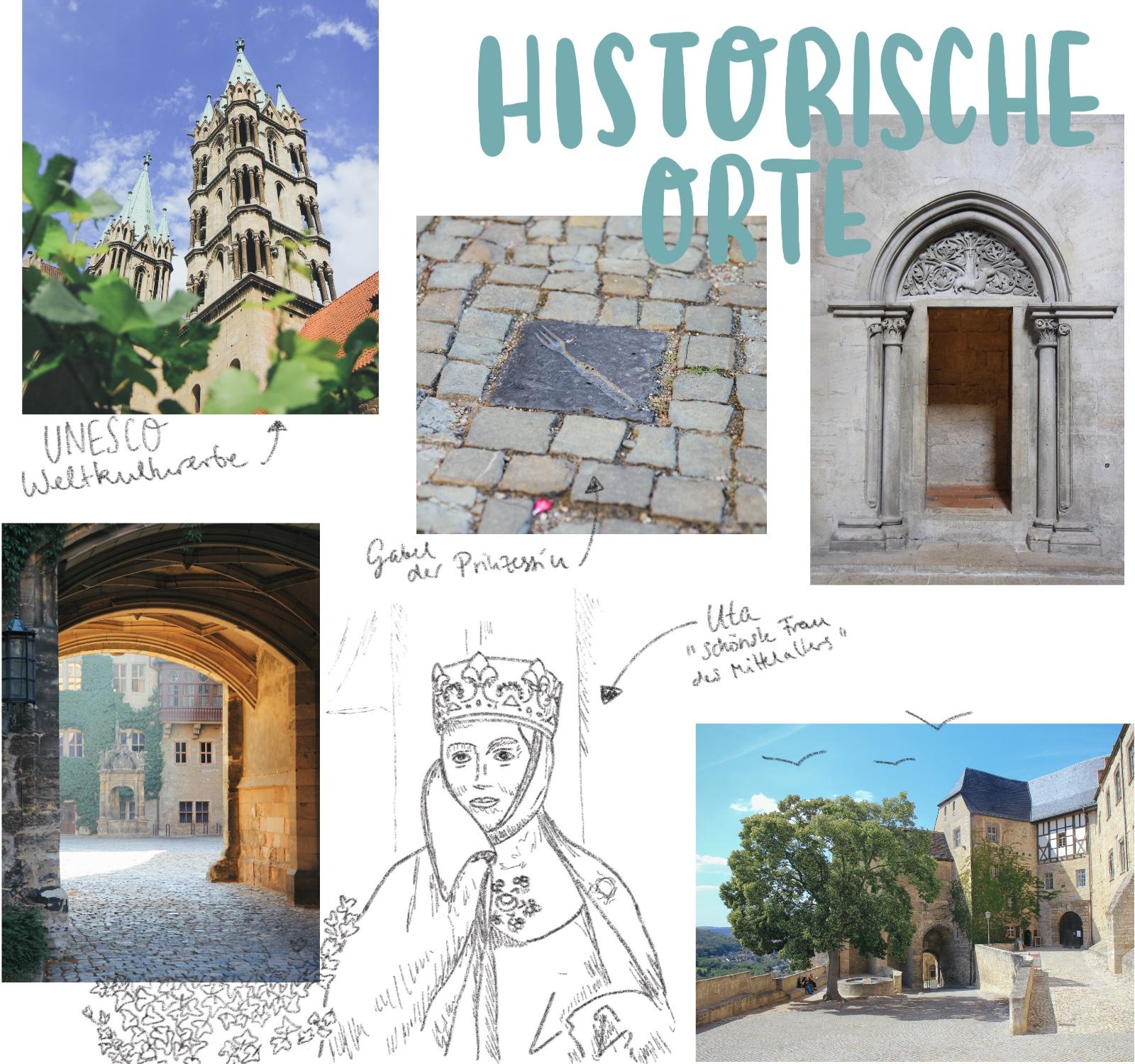 Naumburger Dom Saale-Unstrut Merseburg UNESCO Weltkulturerbe Uta von Ballenstedt