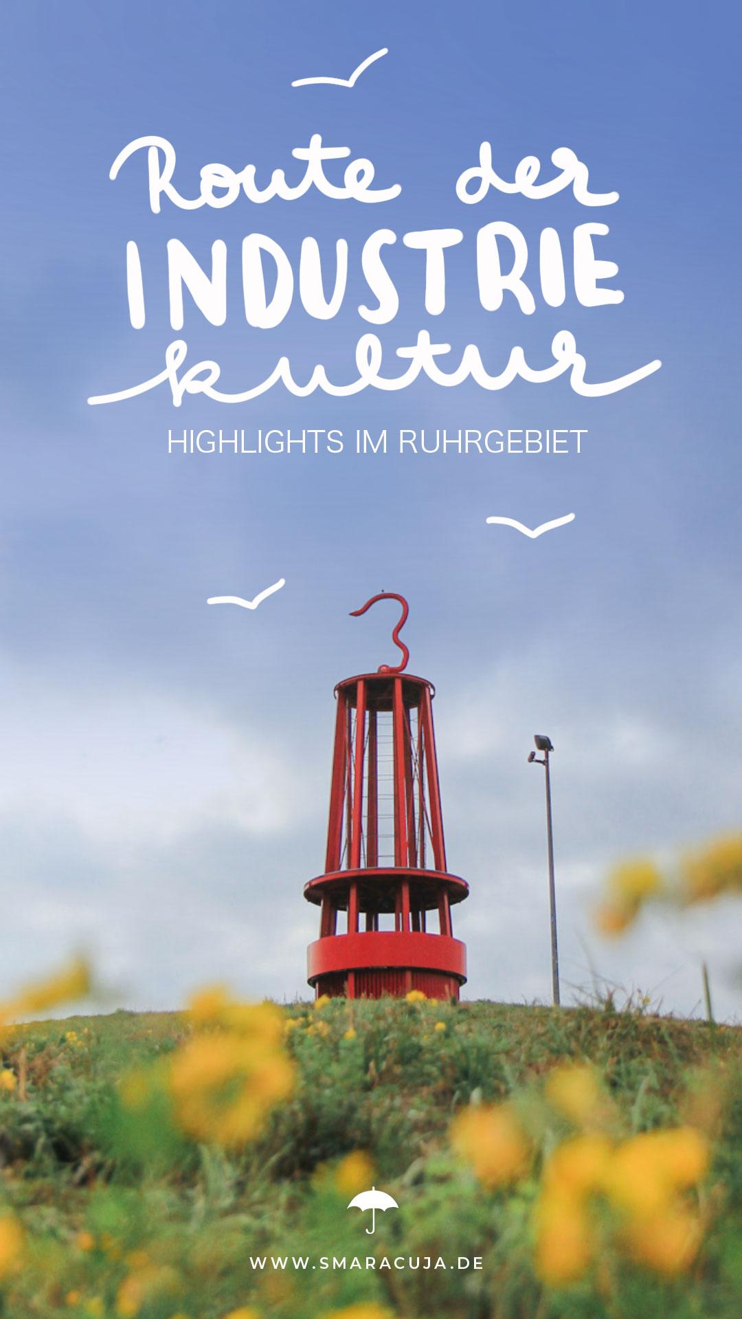 Highlights auf der Route der Industriekultur im Ruhrgebiet