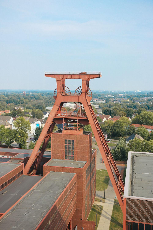 Zeche Zollverein Route der Industriekultur Weltkulturerbe Essen