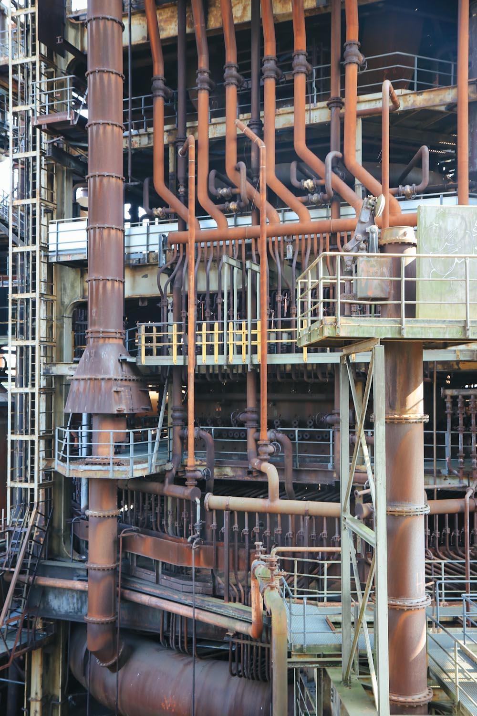 Skywalk Phoenix West Dortmund Route der Industriekultur