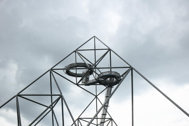 Tetraeder Halde Route der Industriekultur Ruhrgebiet